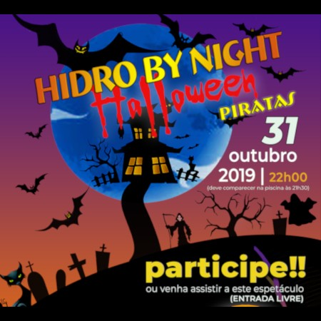 Hidro By Night - Halloween piratas