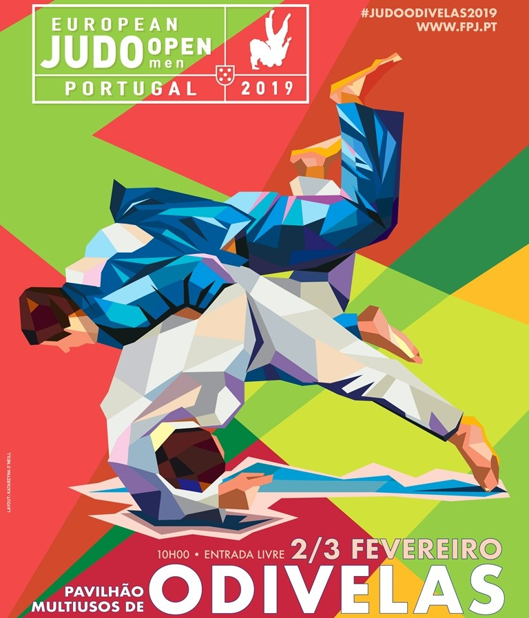 European Judo Open Men, Odivelas 2019